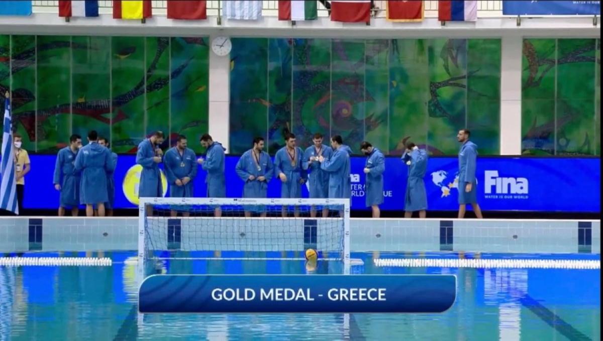 Πρώτη η Εθνική πόλο στην Ευρώπη, νίκη επί του Μαυροβουνίου