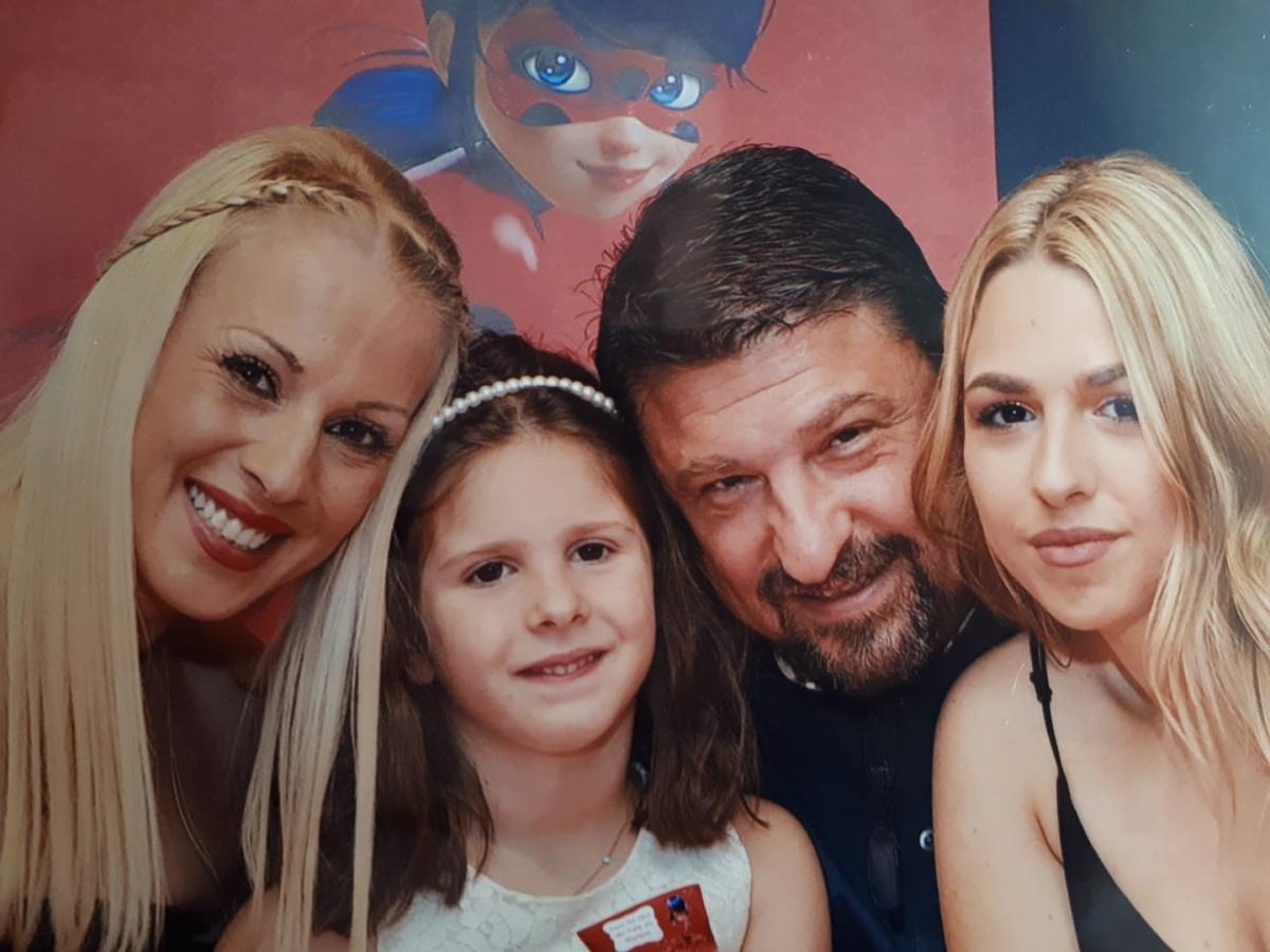 Νίκος Χαρδαλιάς: Είναι ο πιο τρυφερός μπαμπάς – Οι δημόσιες ευχές στην κόρη του
