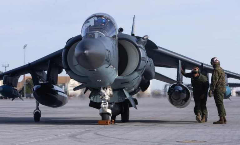 Παράταση ζωής για τα θρυλικά μαχητικά Harrier με το «βλέμμα» στα stealth F-35B