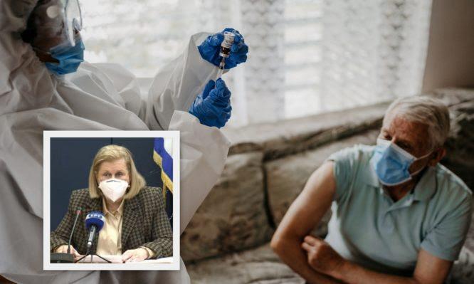 Εμβολιασμοί Covid: Πώς θα κλείσουν ραντεβού οι ηλικιωμένοι που δεν μπορούν να μετακινηθούν; Τι λέει η Μαρία Θεοδωρίδου