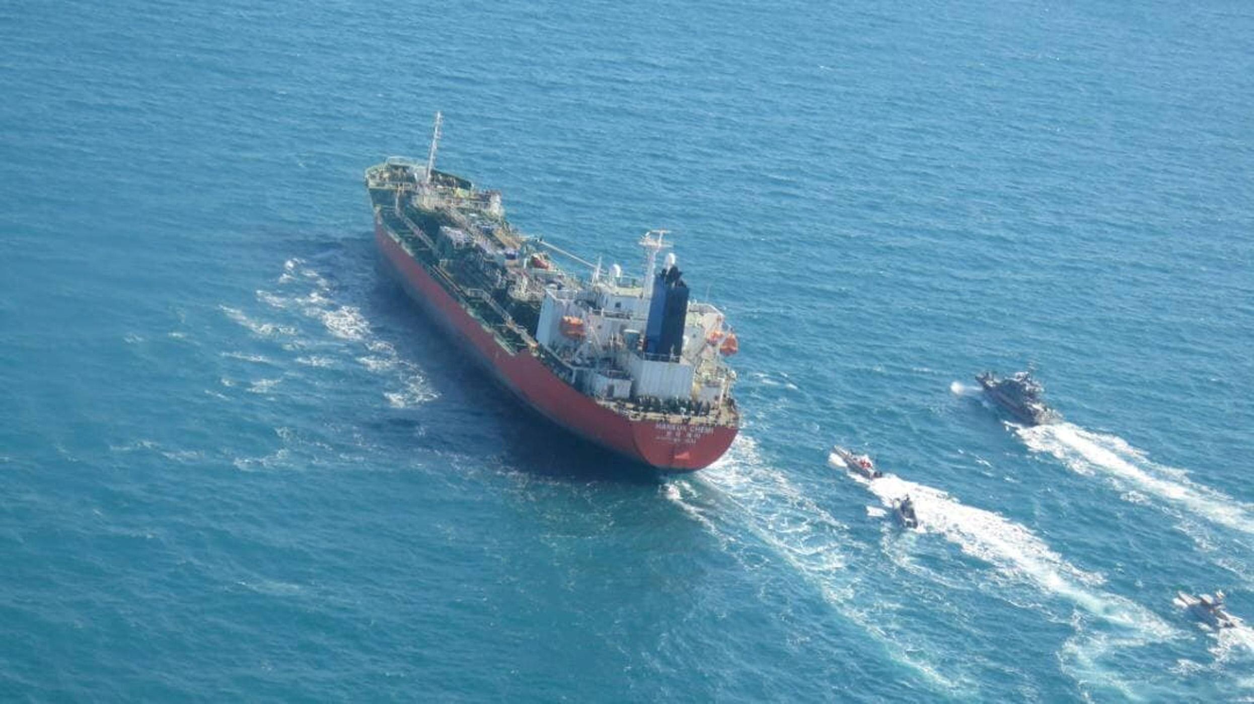 Το Ιράν κατέλαβε ένα δεξαμενόπλοιο με σημαία Νότιας Κορέας