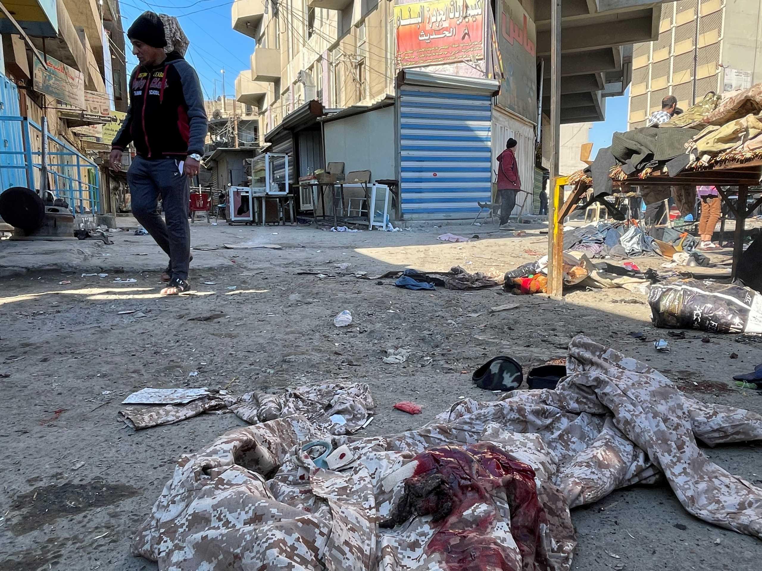 Βαγδάτη: Πολύνεκρη επίθεση αυτοκτονίας ύστερα από 18 μήνες