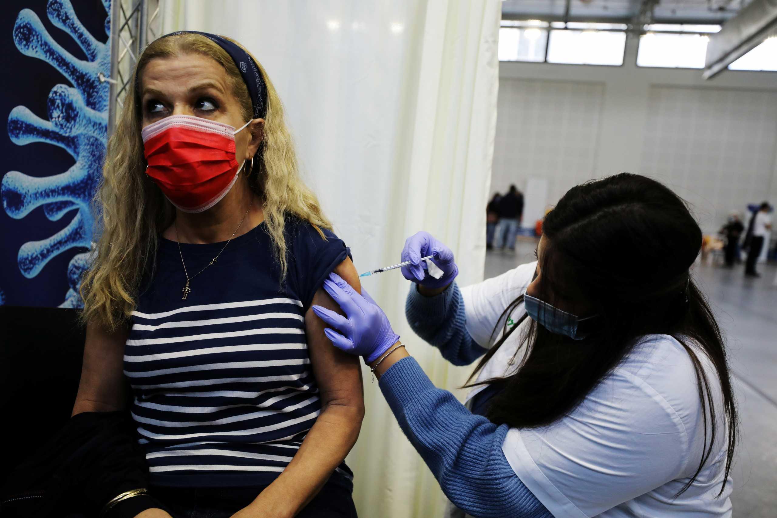 Ισραήλ: Στο 95% η αποτελεσματικότητα του εμβολίου της Pfizer σύμφωνα με μελέτη σε πραγματικές συνθήκες