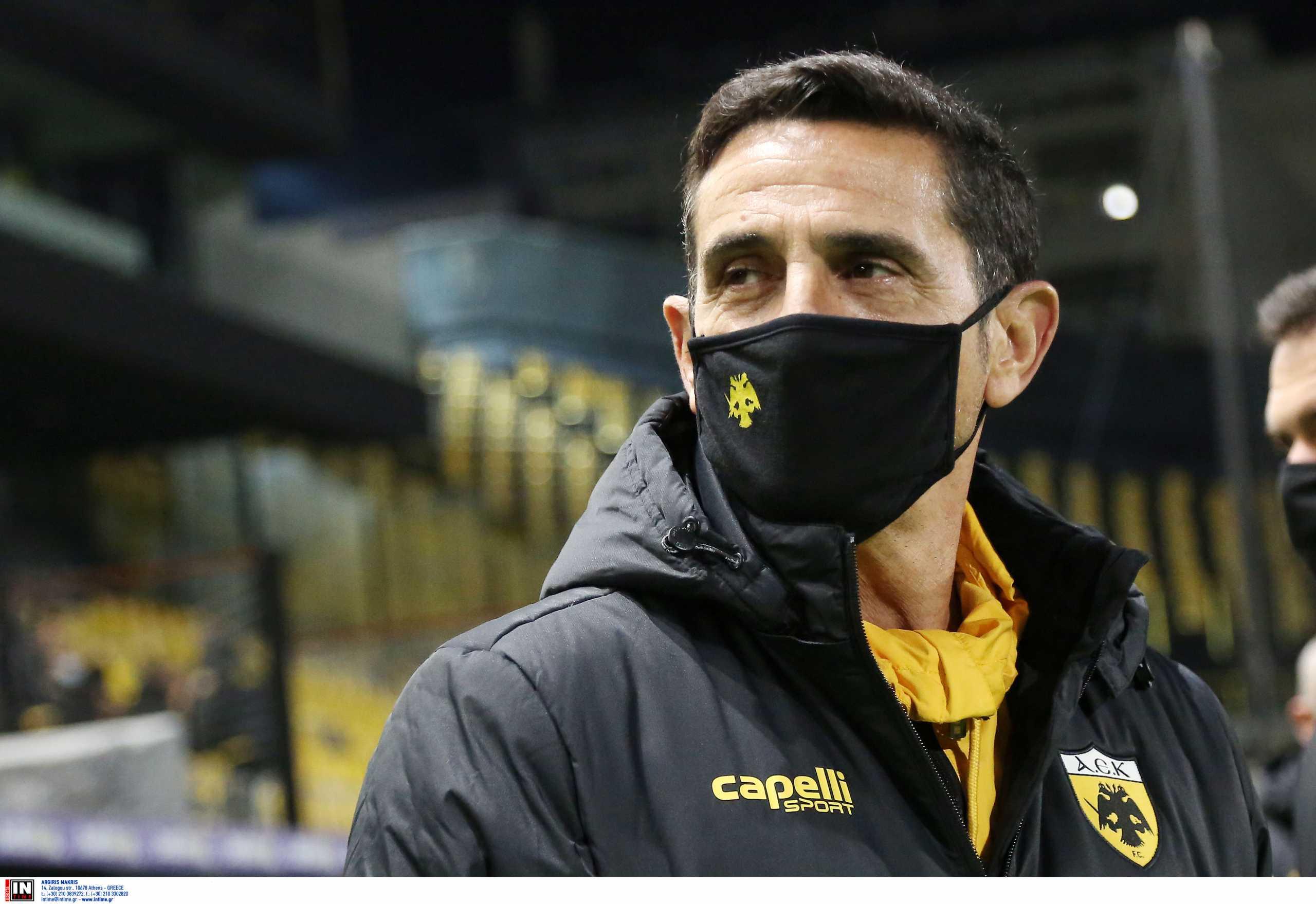 ΑΕΚ: «Δεν μπορούν άλλο οι παίκτες, επαιξε σχεδόν τραυματίας ο Μάνταλος» είπε ο Χιμένεθ