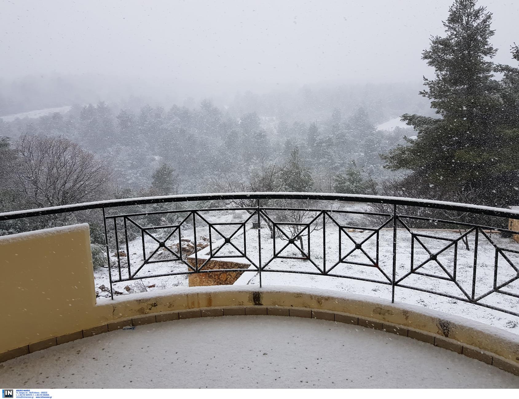 Καιρός – κακοκαιρία Λέανδρος: Ξεκινά η ψυχρή εισβολή, που θα χιονίσει