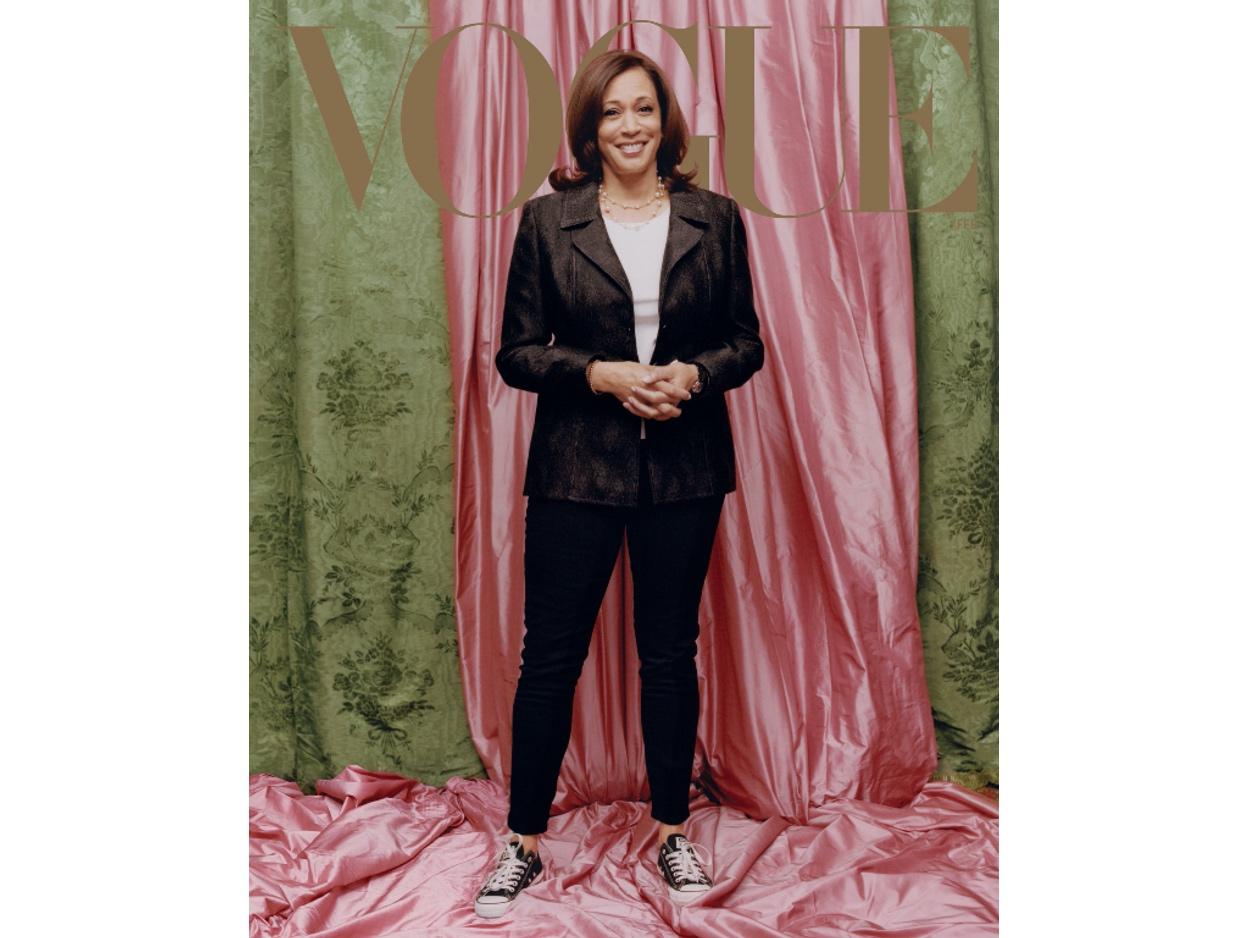 Κάμαλα Χάρις: Η νέα αντιπρόεδρος των ΗΠΑ με σταράκια εξώφυλλο στην Vogue