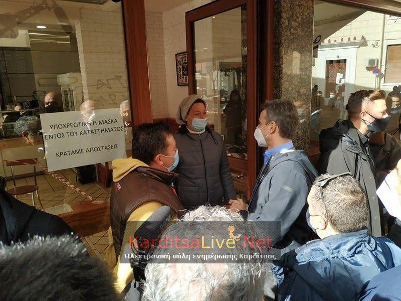 Μητσοτάκης: Διάλογοι για τις αποζημιώσεις και αυτοψία στην περιοχή που έγιναν αντιπλημμυρικά έργα στην Καρδίτσα (pics)