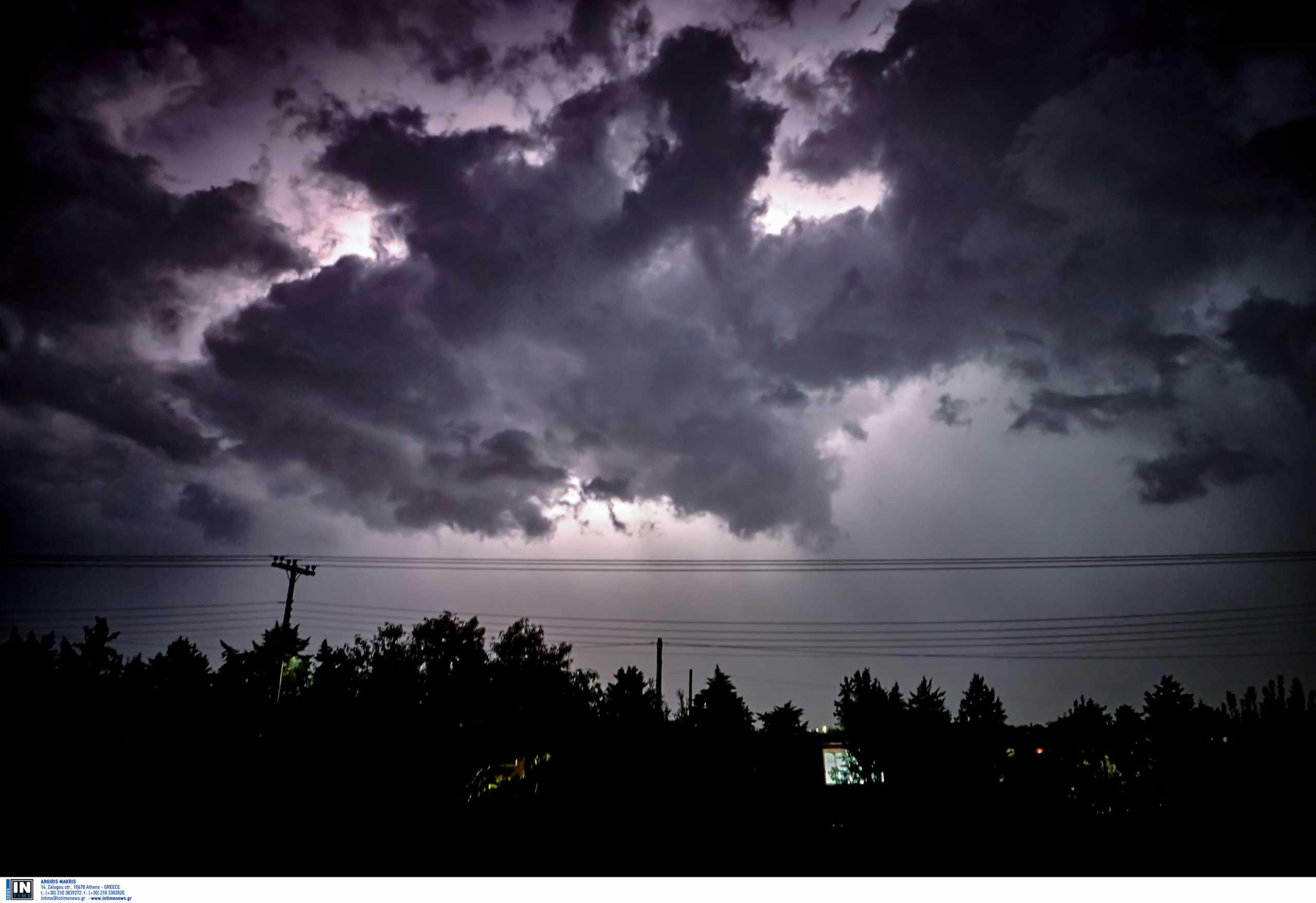 Καιρός: Έκτακτο δελτίο επιδείνωσης – Έρχονται ισχυρές βροχές και καταιγίδες