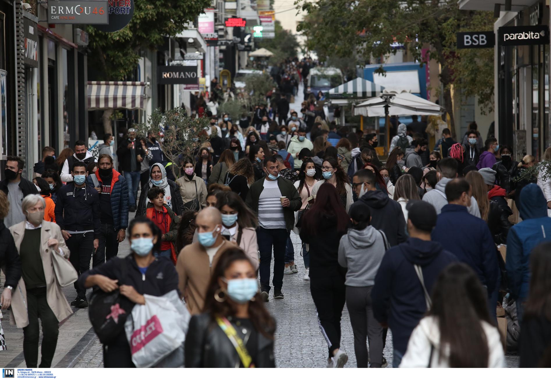 Κορονοϊός – Αττική: Πού εντοπίζονται τα 256 νέα κρούσματα – «Βράζει» το κέντρο της Αθήνας