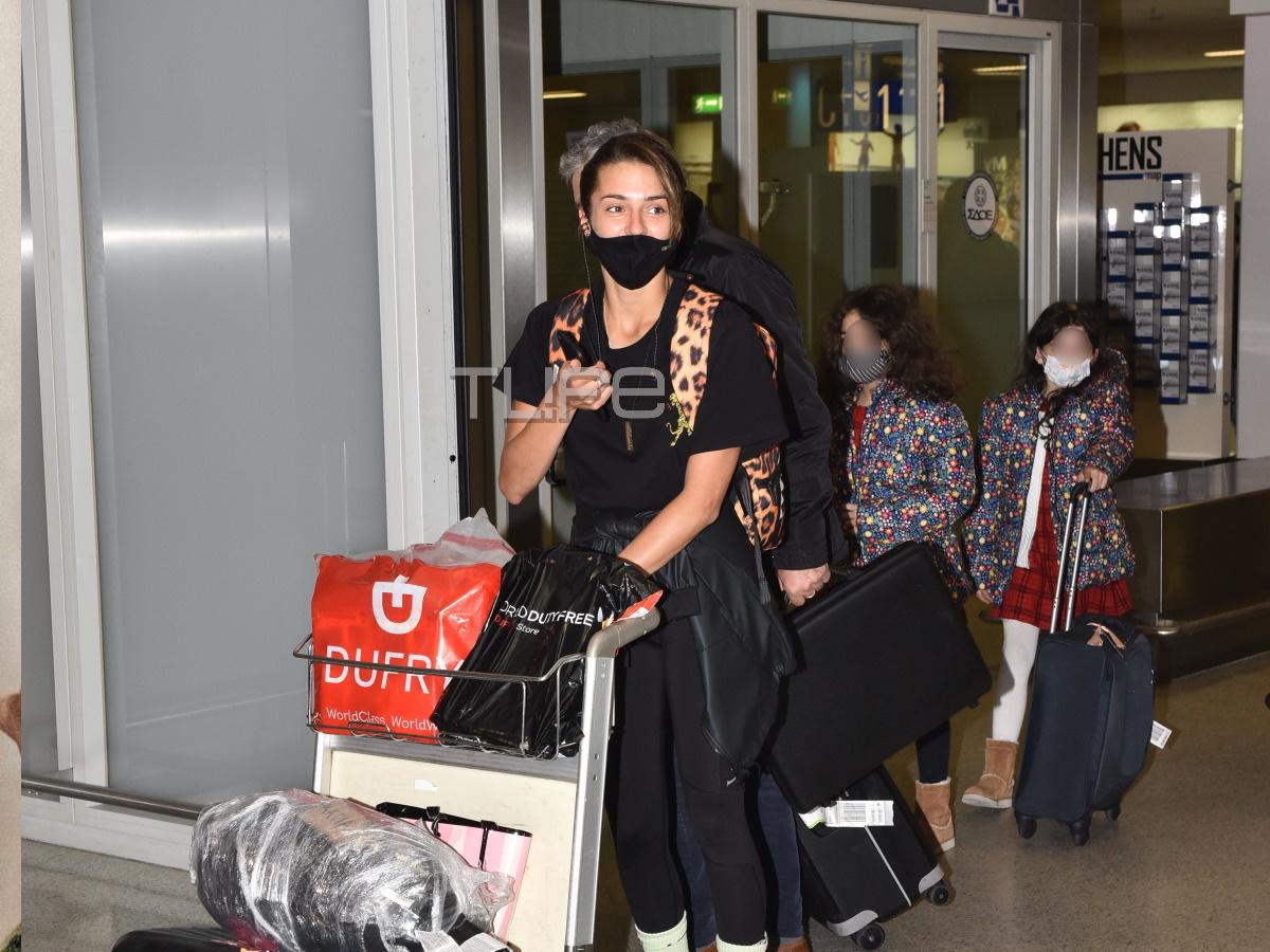 Η Κάτια Ταραμπάνκο μόλις έφτασε στην Ελλάδα μετά το Survivor!