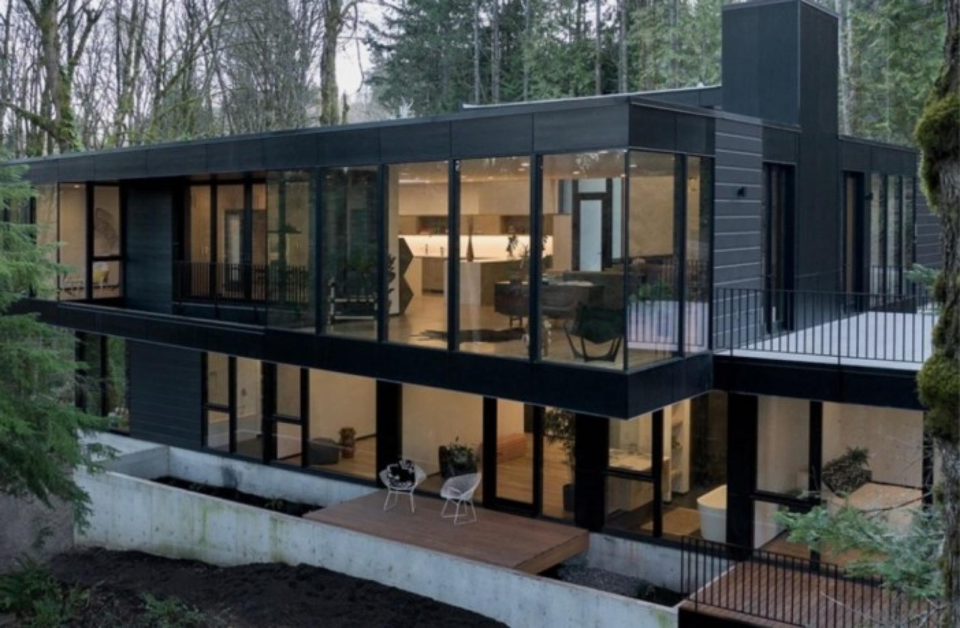 Μια πανέμορφη κατοικία στο δάσος που θα σας αφήσει με το στόμα ανοιχτό!