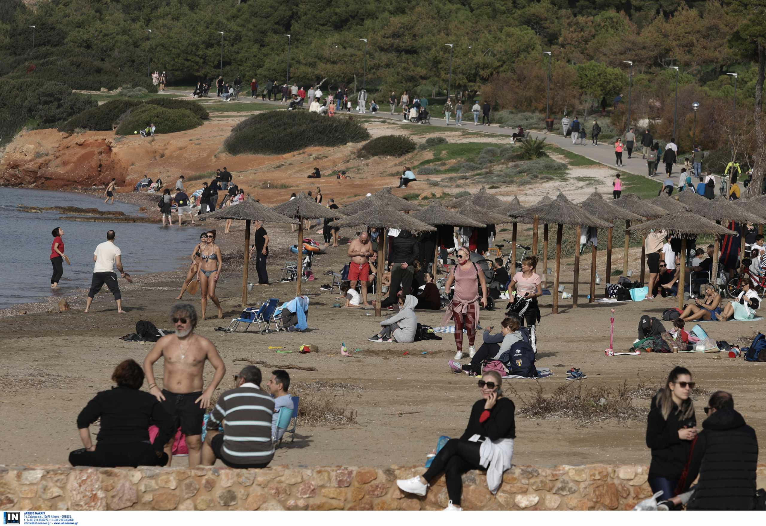 Ιστορικό ρεκόρ υψηλών θερμοκρασιών στην Αθήνα τον Δεκέμβριο και τον Ιανουάριο