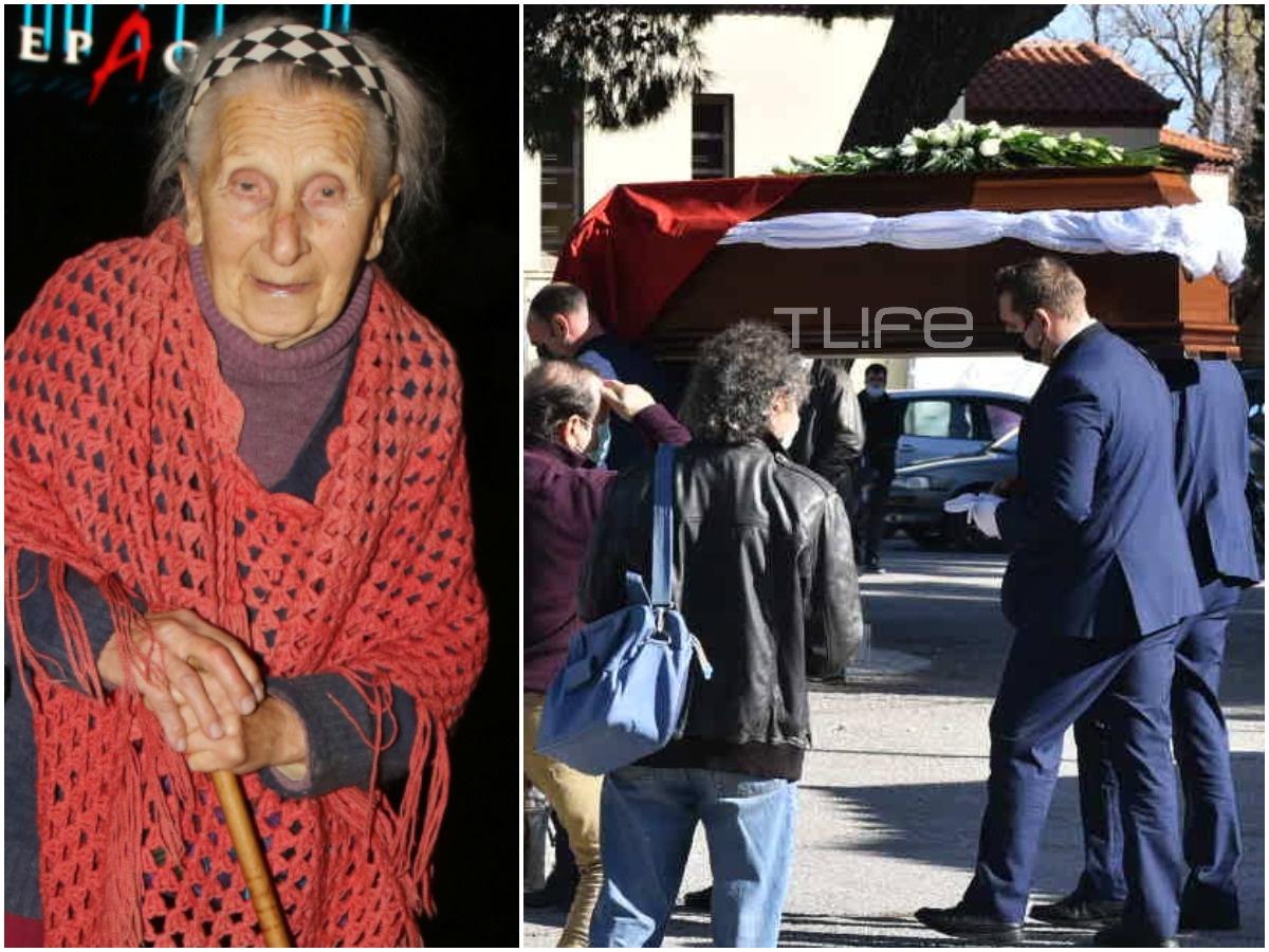 Θλίψη στο τελευταίο αντίο στην Τιτίκα Σαριγκούλη