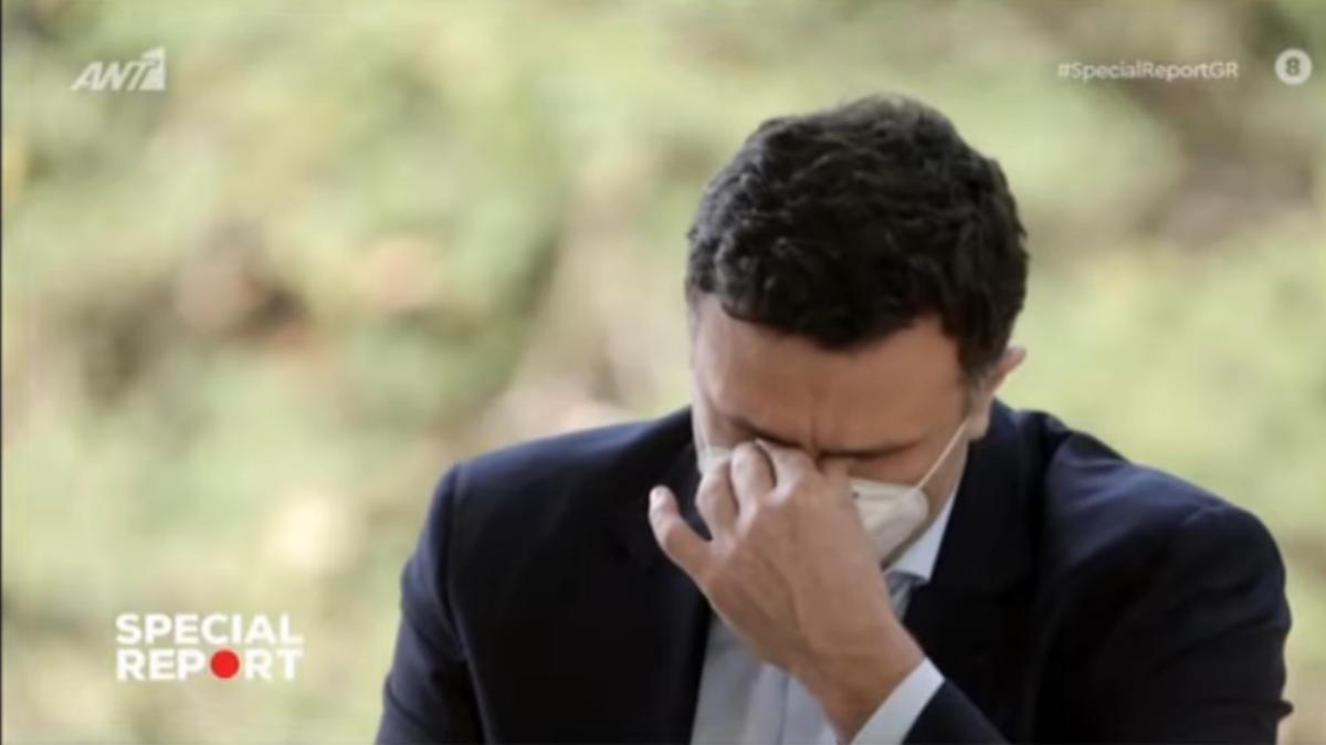 Έκλαψε on air o Κικίλιας: Έχω δεθεί άρρηκτα με τους ανθρώπους της υγείας (vid)