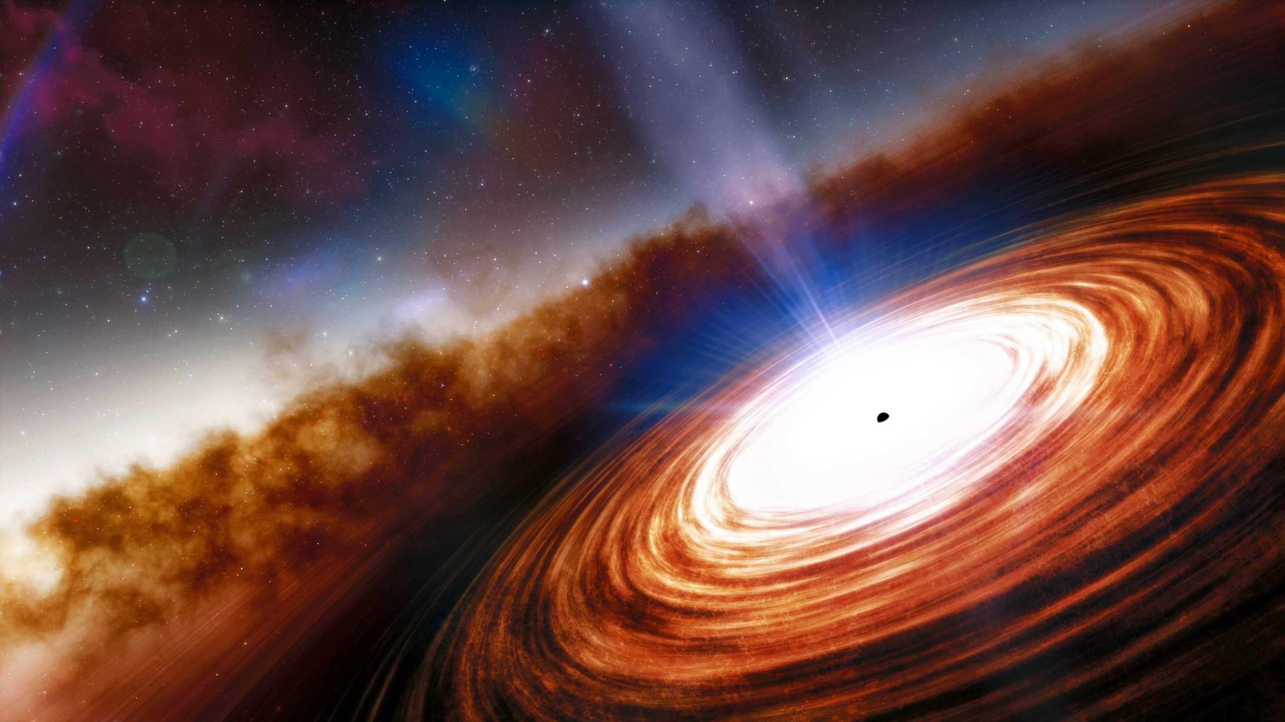Απόκοσμη εικόνα, σπουδαία ανακάλυψη: Αυτό είναι το πιο μακρινό κβάζαρ στο σύμπαν (pic)