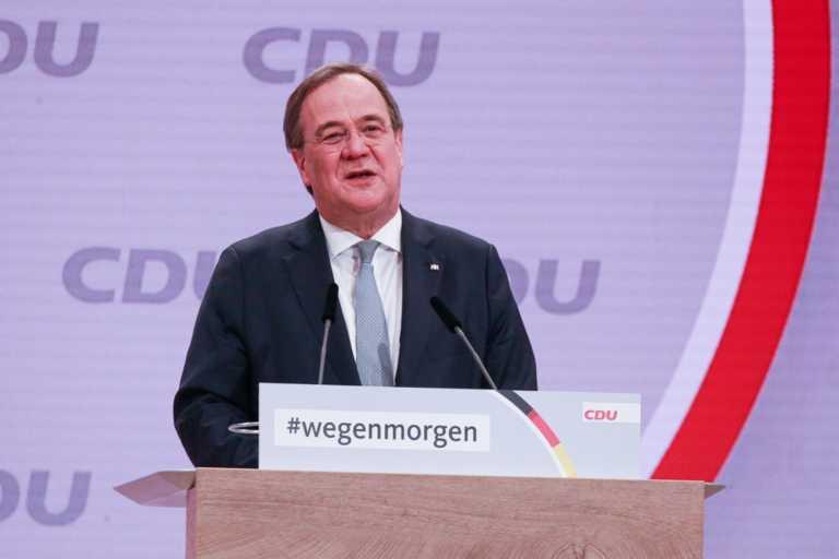 Δημοσκόπηση: Το 41% των Γερμανών εγκρίνει τον Άρμιν Λάσετ στην ηγεσία των Χριστιανοδημοκρατών