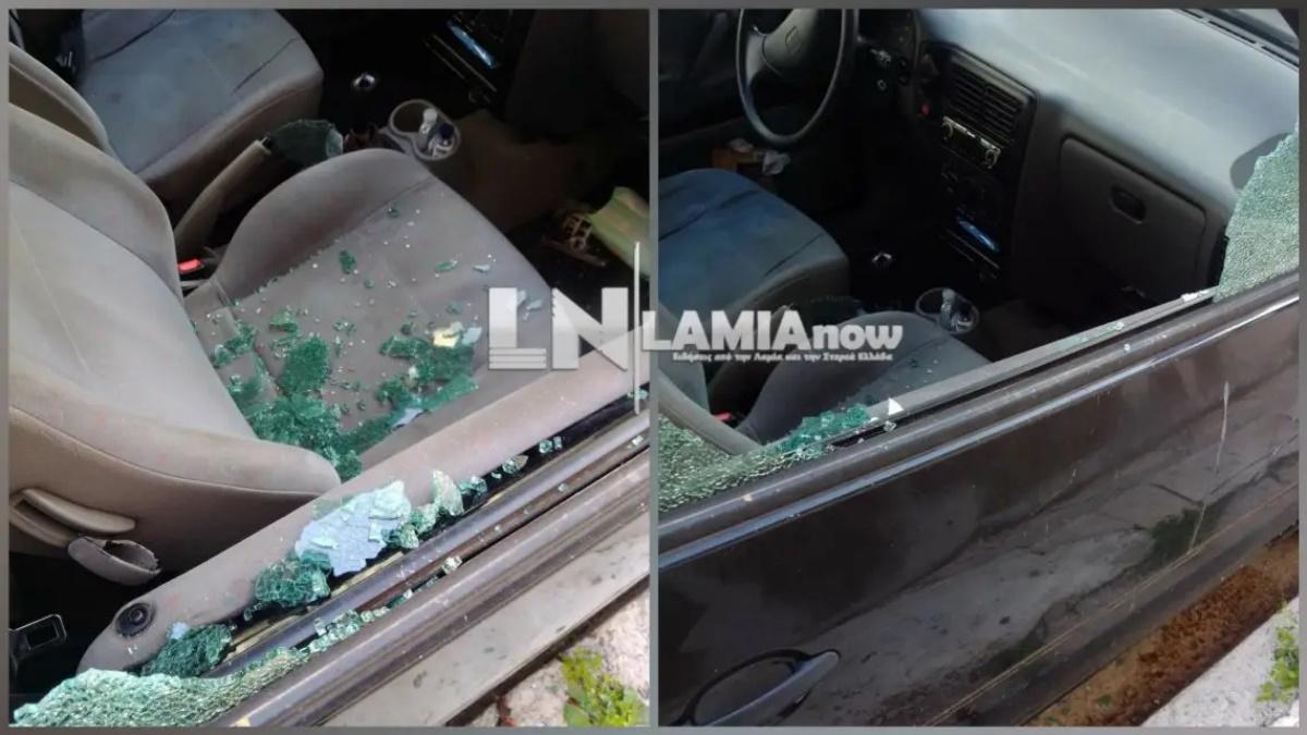 Ο «ψηλός» και ο «κοντός» σπέρνουν τον τρόμο στη Λαμία –Σπάνε αυτοκίνητα και μπαίνουν σε σπίτια (pics)