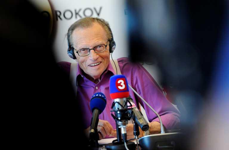 Πέθανε ο Larry King – Θρήνος για τον θρύλο των talk show