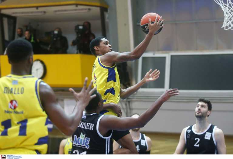 Basket League: «Σκότωσε» και τον ΠΑΟΚ το Λαύριο και βρέθηκε στην κορυφή (video)