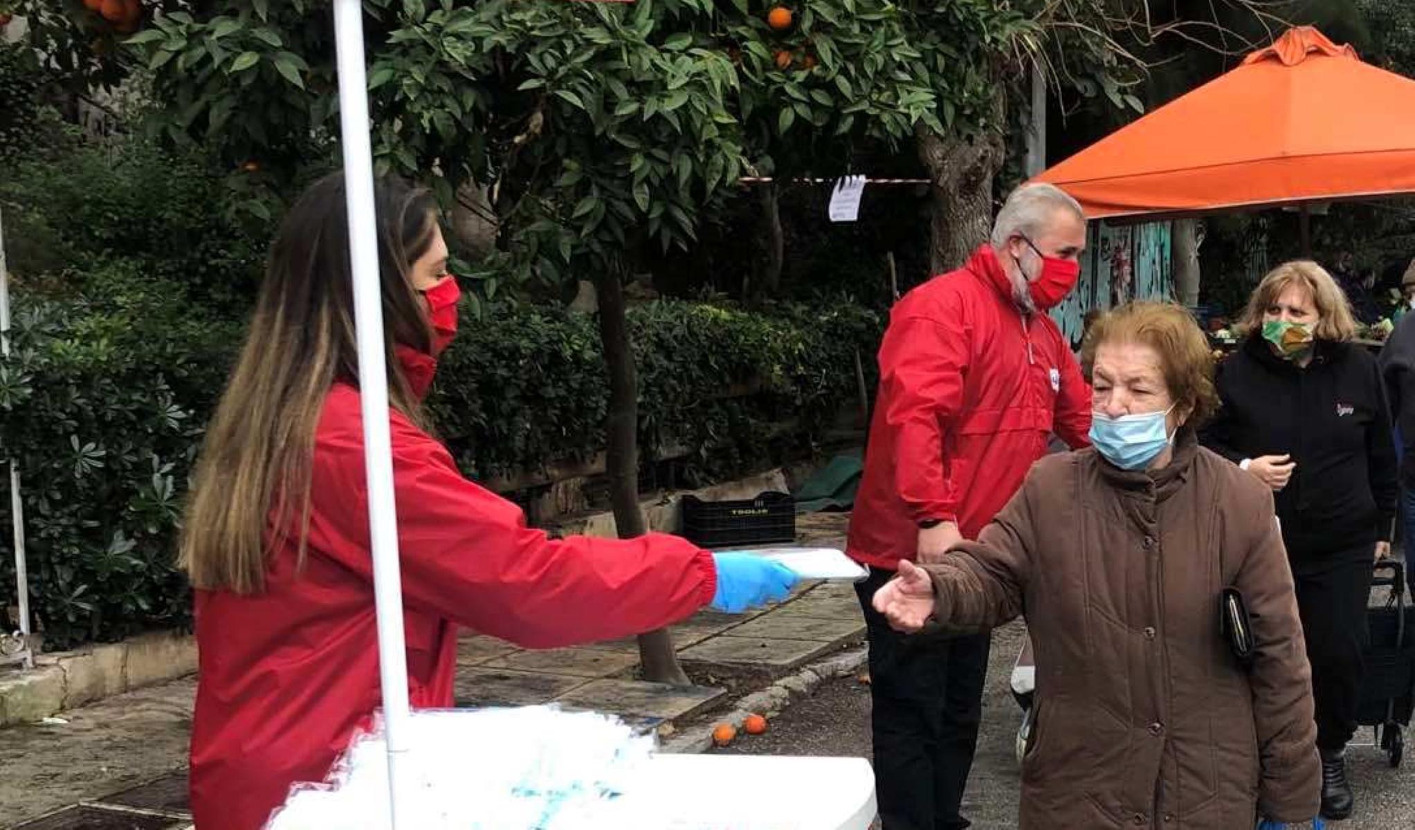 Δήμος Πειραιά: Μοίρασε 100.000 μάσκες σε πολίτες