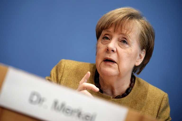 Μέρκελ: Υπερβολική απαίτηση από τους πολίτες οι περιορισμοί για τον κορονοϊό