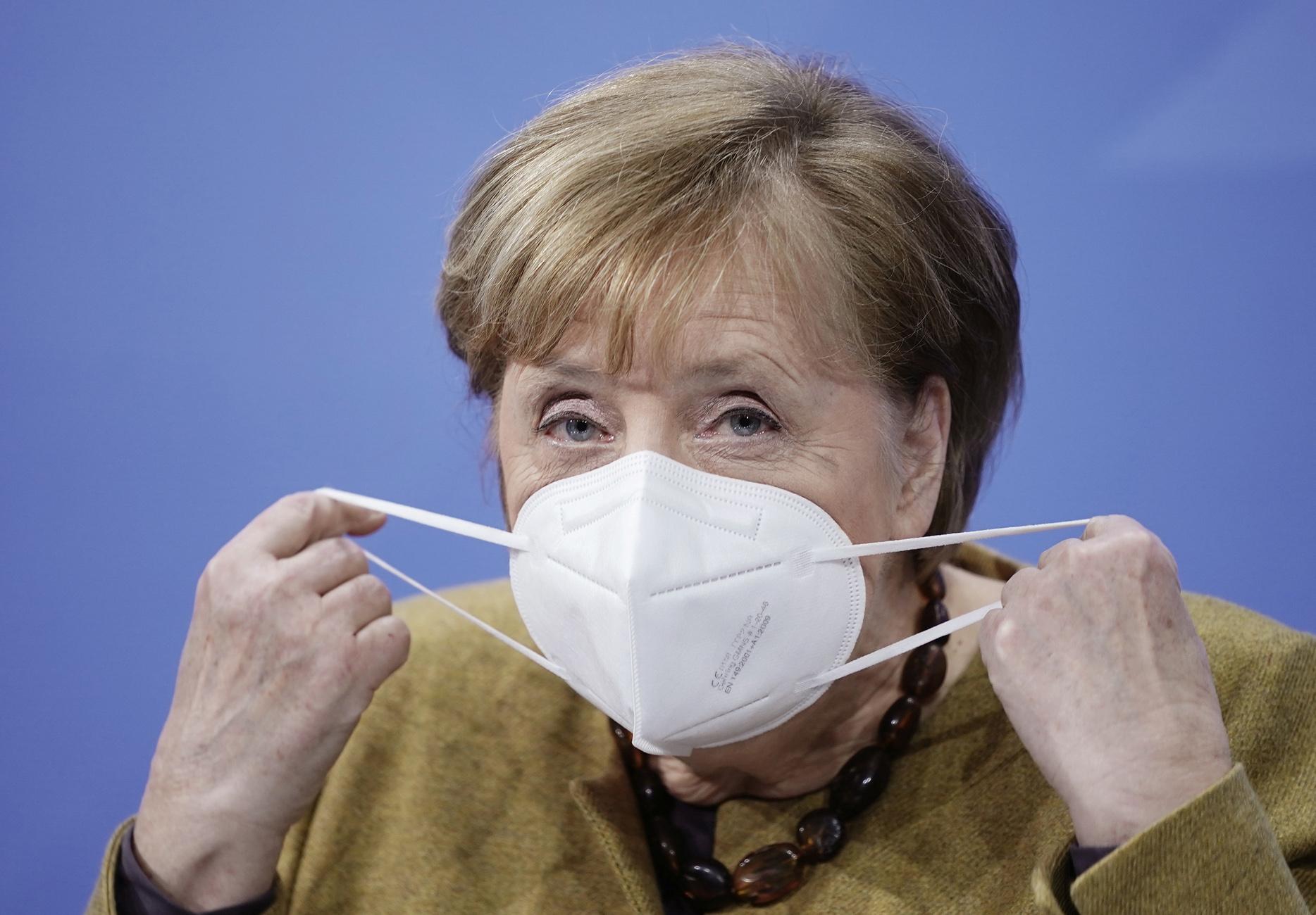 Μέρκελ: Καμία χαλάρωση των μέτρων μέχρι την 1η Μαρτίου