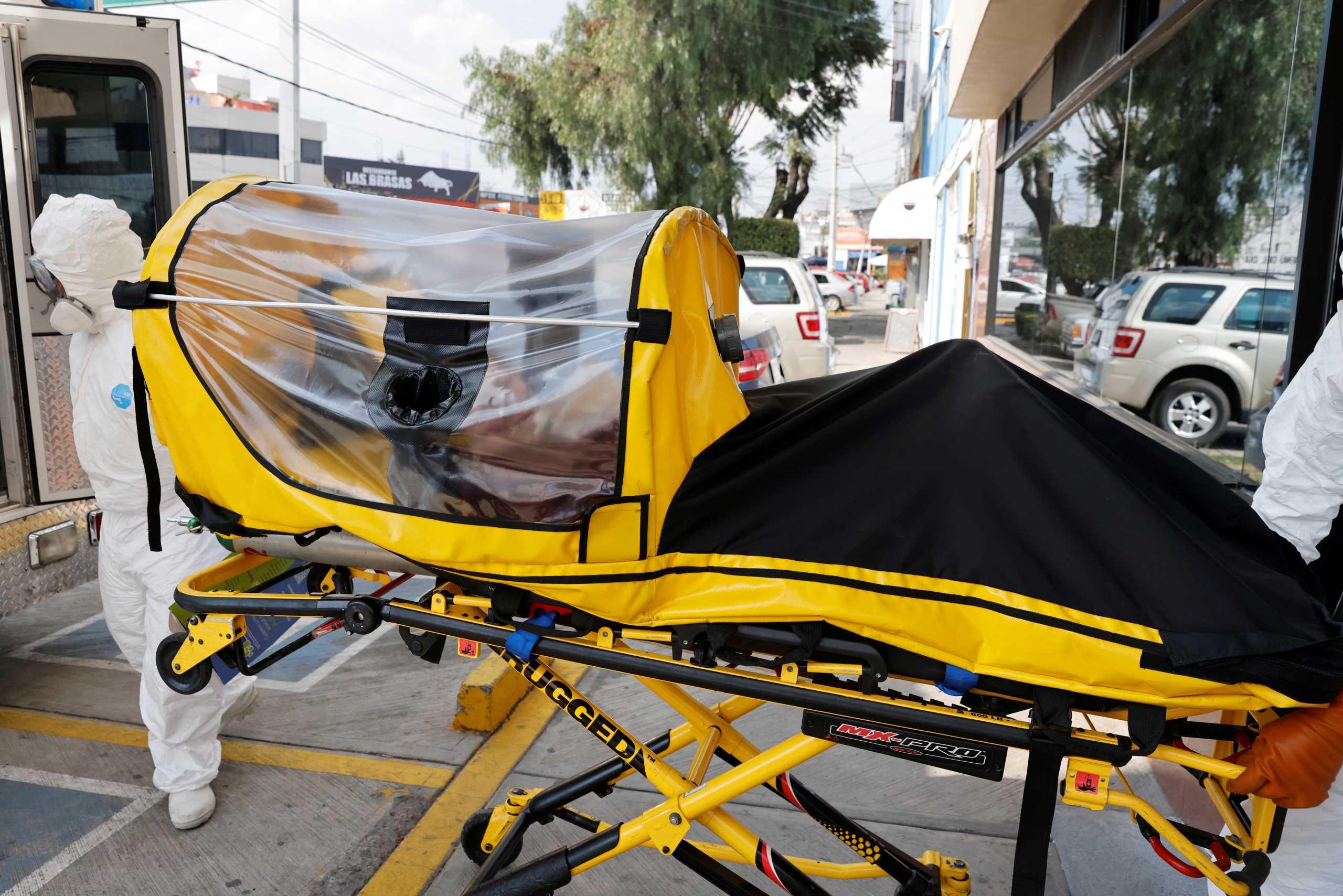Μεξικό – Κορονοϊός: Πάνω από 1.300 θάνατοι και 11.100 κρούσματα σε 24 ώρες