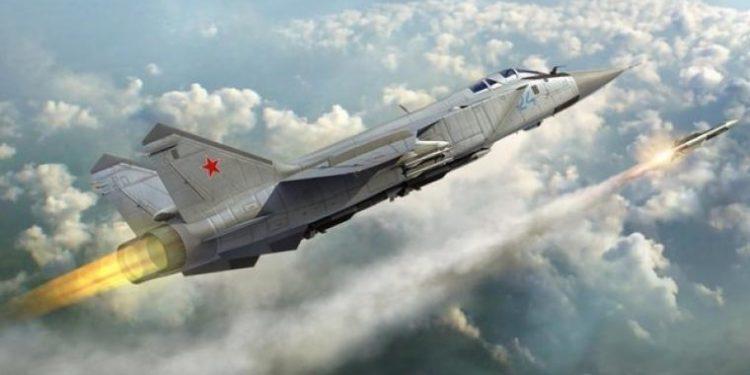 MiG-31: Tα θρυλικά ρωσικά μαχητικά εξοπλίζονται με υπερηχητικούς πυραύλους Kinzhal