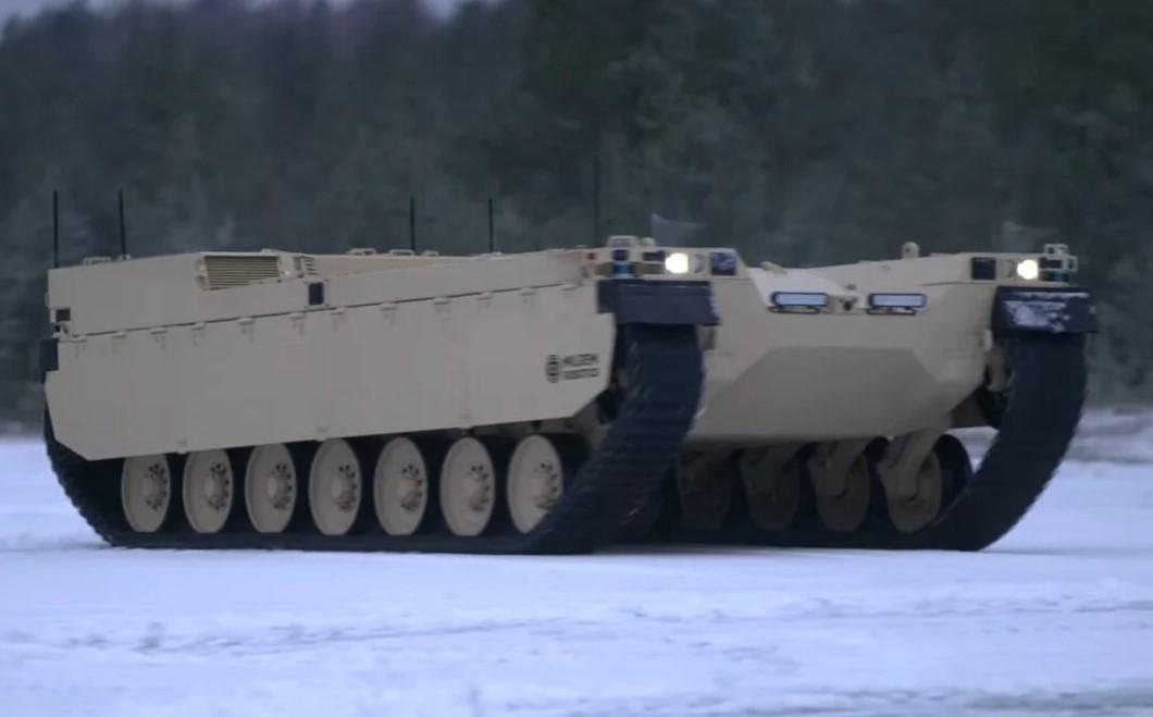 Η εταιρεία Milrem αποκάλυψε το ρομποτικό και… φουτουριστικό όχημα μάχης RCV Type-X (video)