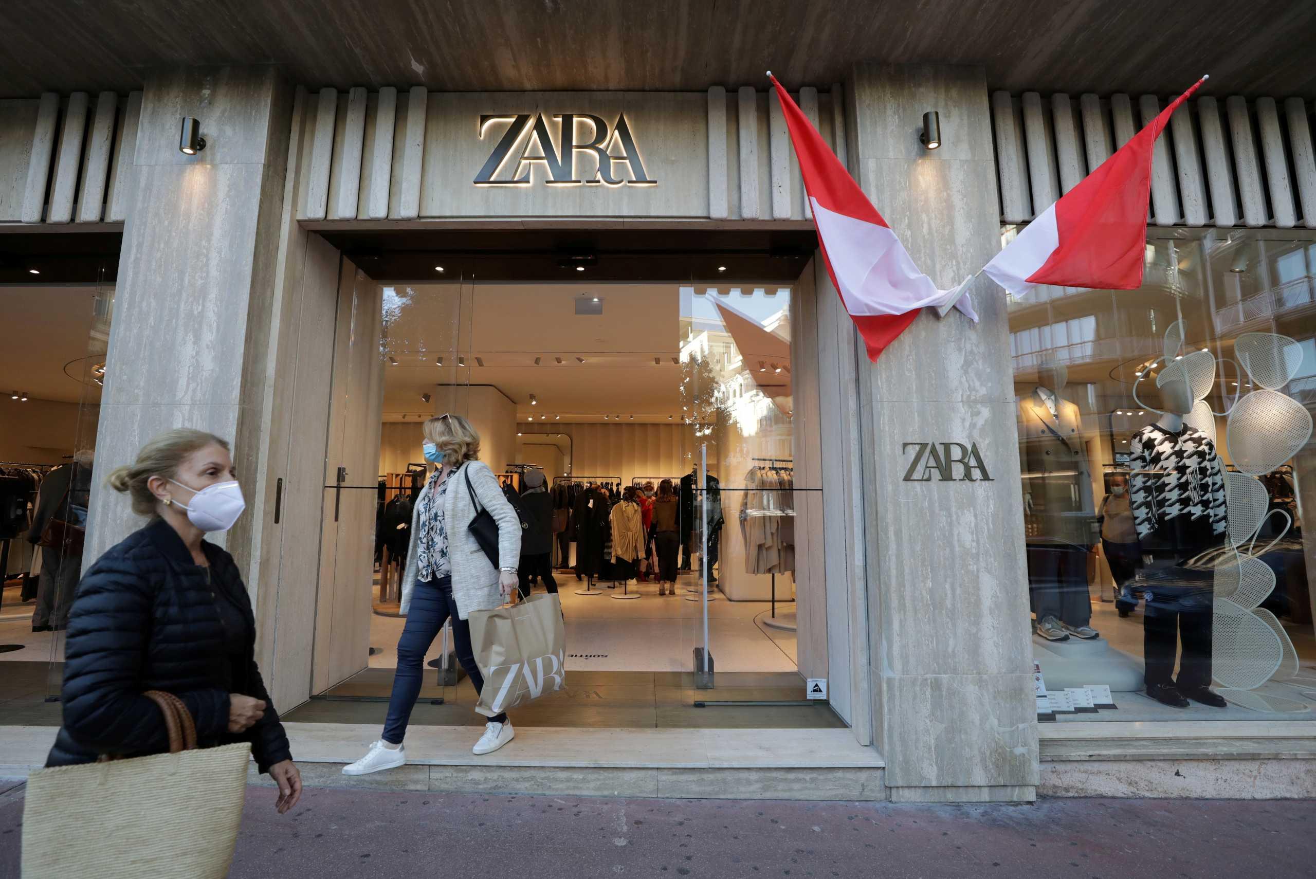 Inditex: «Βουτιά» 70% έκαναν τα κέρδη της μητρικής των Zara, εξαιτίας του κορονοϊού