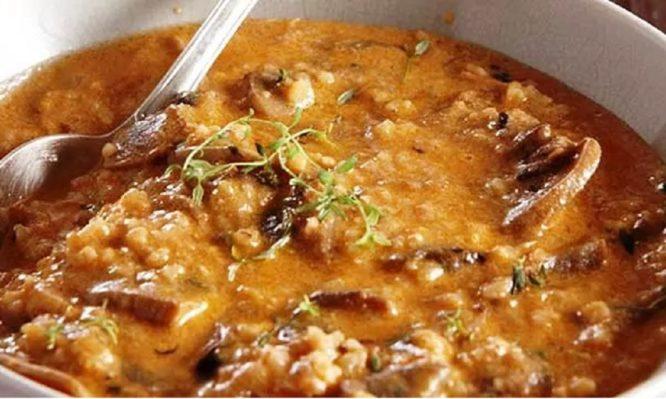 Αυθεντική μοναστηριακή συνταγή για τέλειο  τραχανά με μανιτάρια!