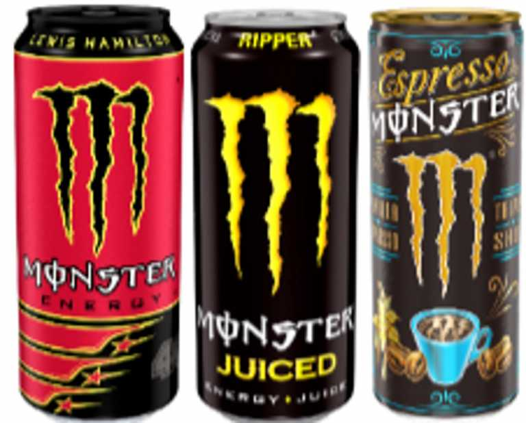 Ανακαλούνται κωδικοί του γνωστού ενεργειακού ποτού Monster