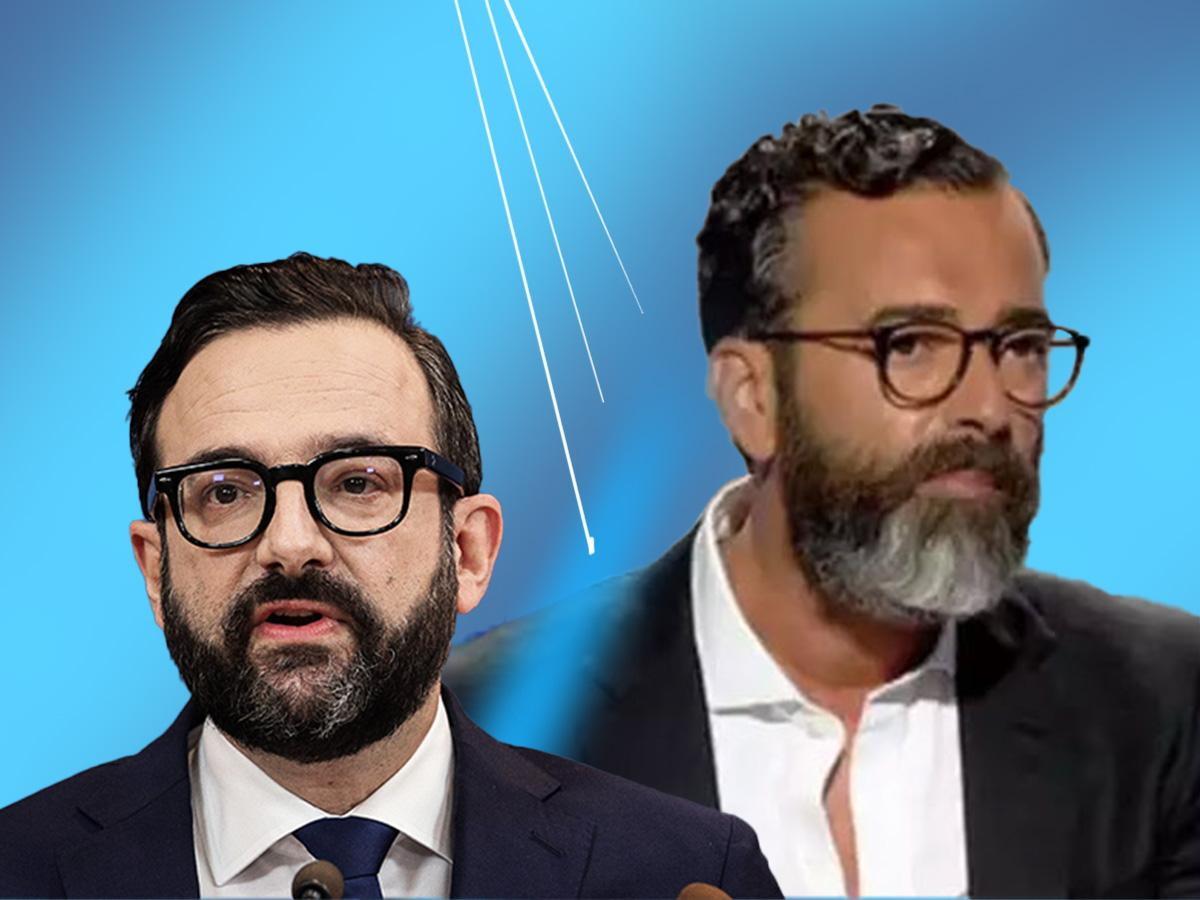 Χρήστος Ταραντίλης: Χαμός στο twitter με την εκπληκτική ομοιότητα του νέου εκπροσώπου Τύπου με τον Άγγελο Μπράτη