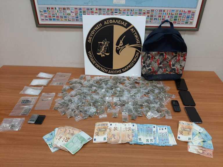 Πανεπιστημιούπολη Ζωγράφου: Έκρυβαν ναρκωτικά σε δέντρα και υδρορροές - 5 συλλήψεις (pics, video)