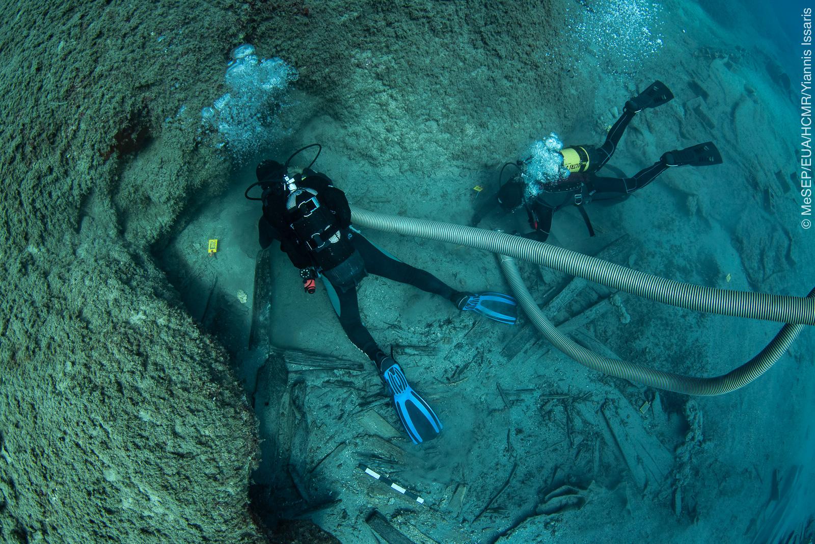 Ναυάγιο ΜΕΝΤΩΡ: Εντυπωσιακές εικόνες από τα αποτελέσματα της υποβρύχιας αρχαιολογικής έρευνας (pics)