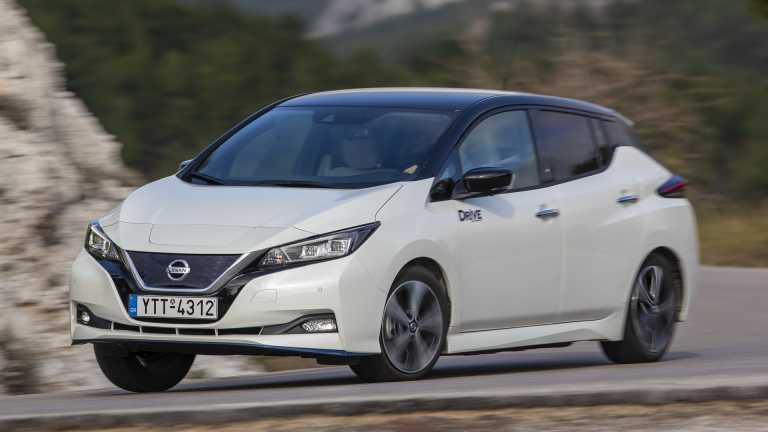Δοκιμάζουμε το νέο Nissan Leaf e+, με μπαταρία 62 kWh
