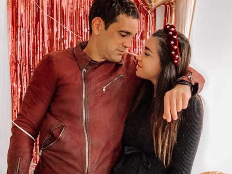 Η Όλγα Φαρμάκη γέννησε! Στο πλευρό της ο σύντροφός της, Σταύρος Μαντόπουλος