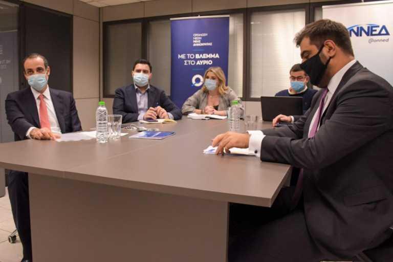 Παρουσία του Γρ. Δημητριάδη η πρώτη συνεδρίαση του νέου Εκτελεστικού Γραφείου της ΟΝΝΕΔ
