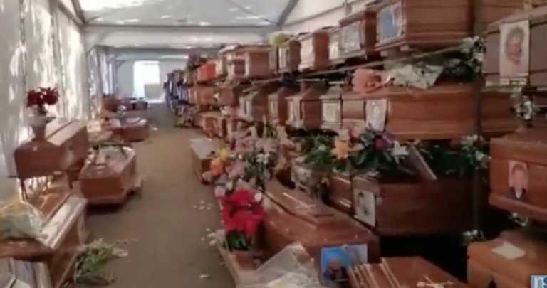 Εικόνα σοκ από το Παλέρμο: 700 νεκροί άταφοι – Γέμισαν το νεκροταφεία