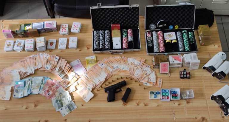 Ημαθία: Μετέτρεψαν κατάστημα σε παράνομο καζίνο – 24 συλλήψεις