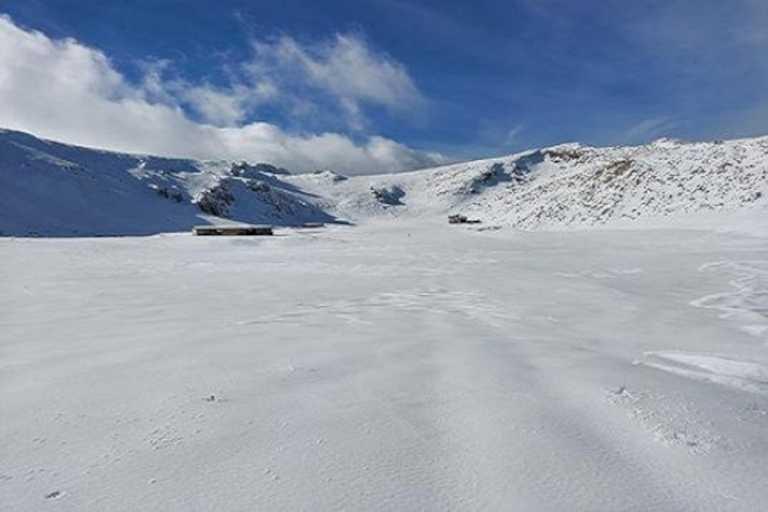 Καιρός: Ο Παρνασσός έγινε… Ανταρκτική – Έφτασε στο -27,8 η θερμοκρασία! (pic)