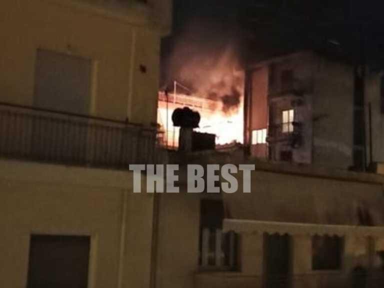 Πάτρα: Τρόμος από φωτιά και εκρήξεις σε αυτό το διαμέρισμα του τετάρτου ορόφου (video)