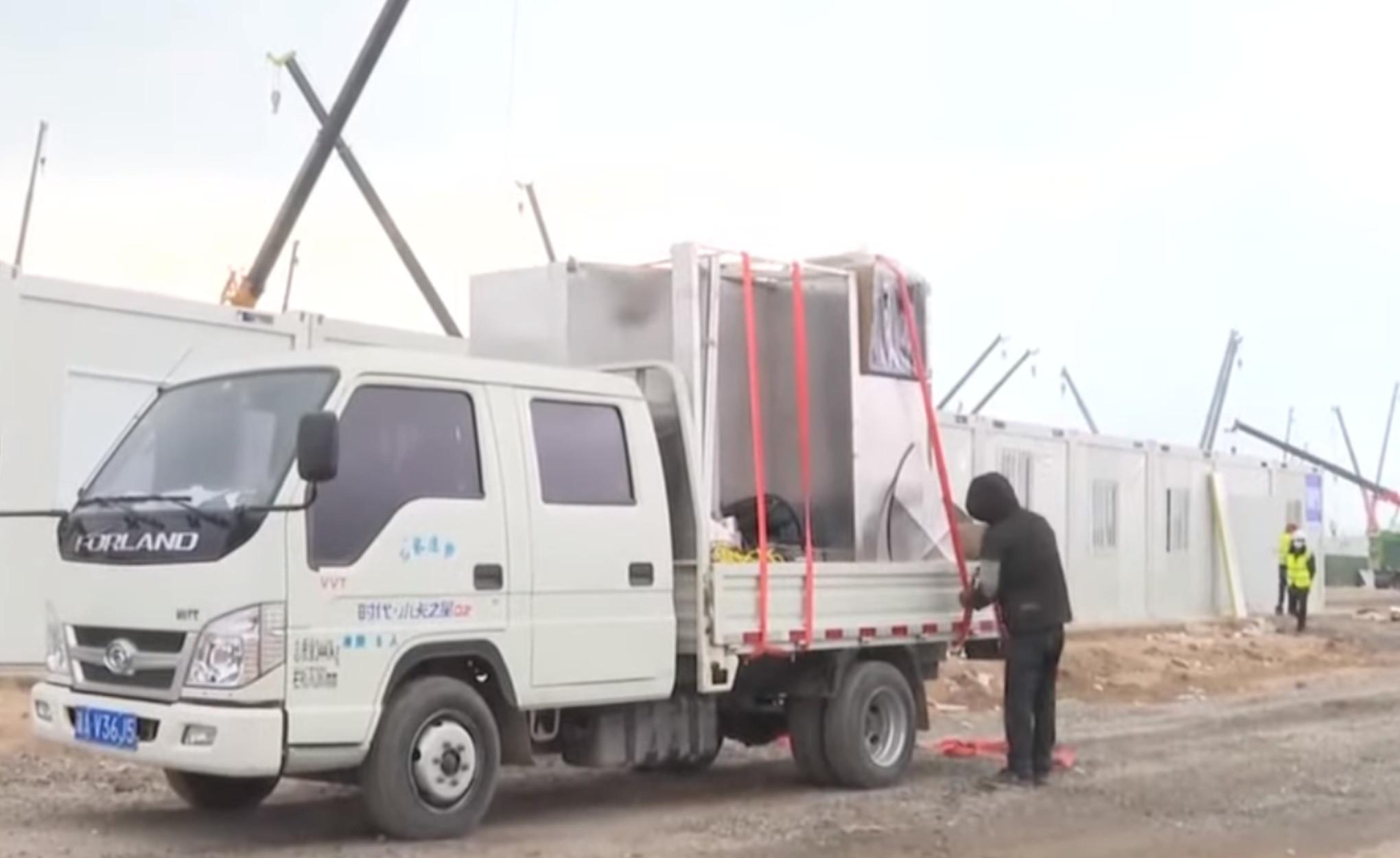 Πεκίνο: Φτιάχνουν τεράστιο κέντρο καραντίνας για κρούσματα κορονοϊού (video)