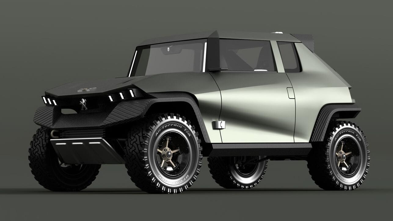 Peugeot 2×8: Ένα «Jimny» από το Sochaux!