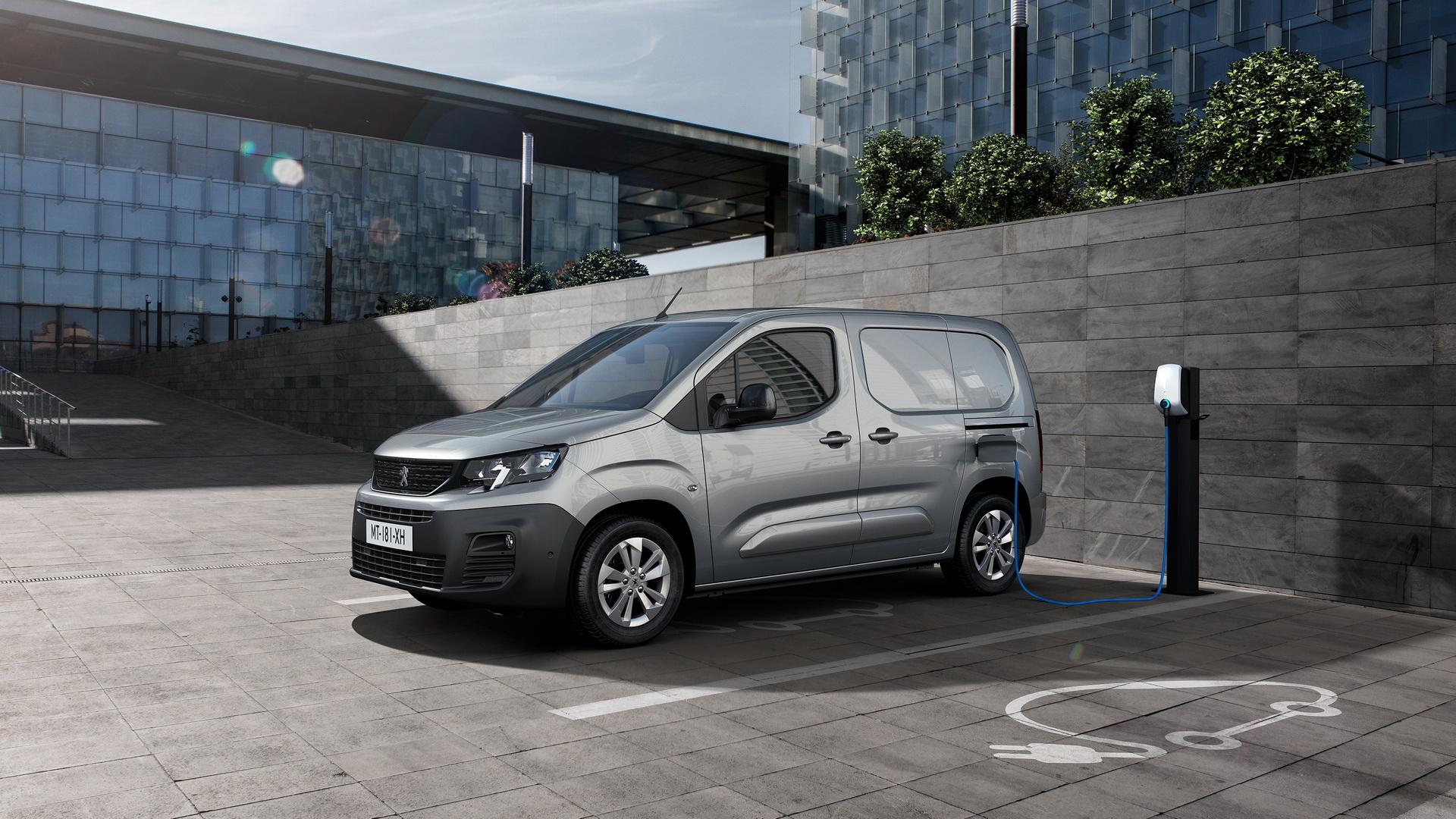 Peugeot e-Partner: Έγινε ηλεκτρικό και το μίνιβαν των Γάλλων [pics]
