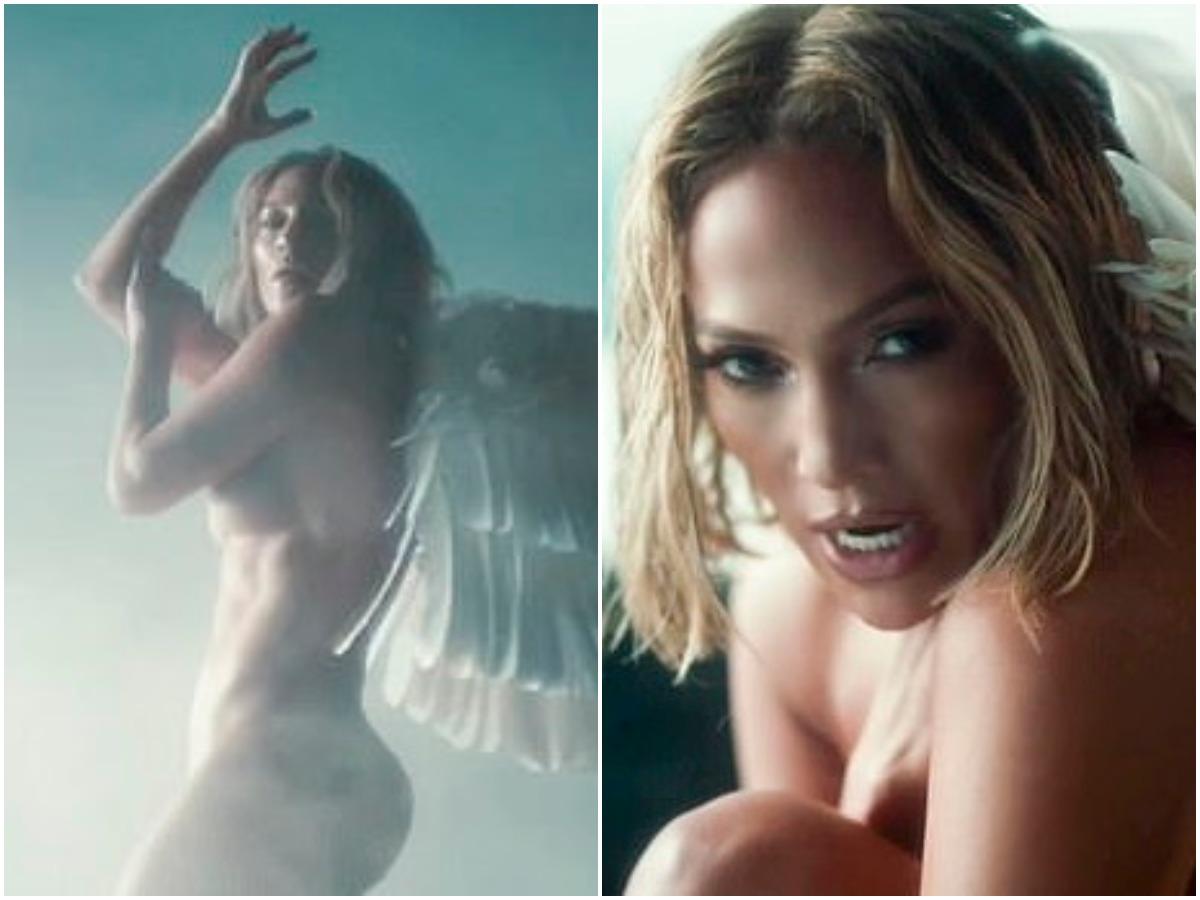 Η 51χρονη Jennifer Lopez, ανάβει φωτιές χορεύοντας χωρίς ρούχα μέσα στο δάσος (βίντεο)