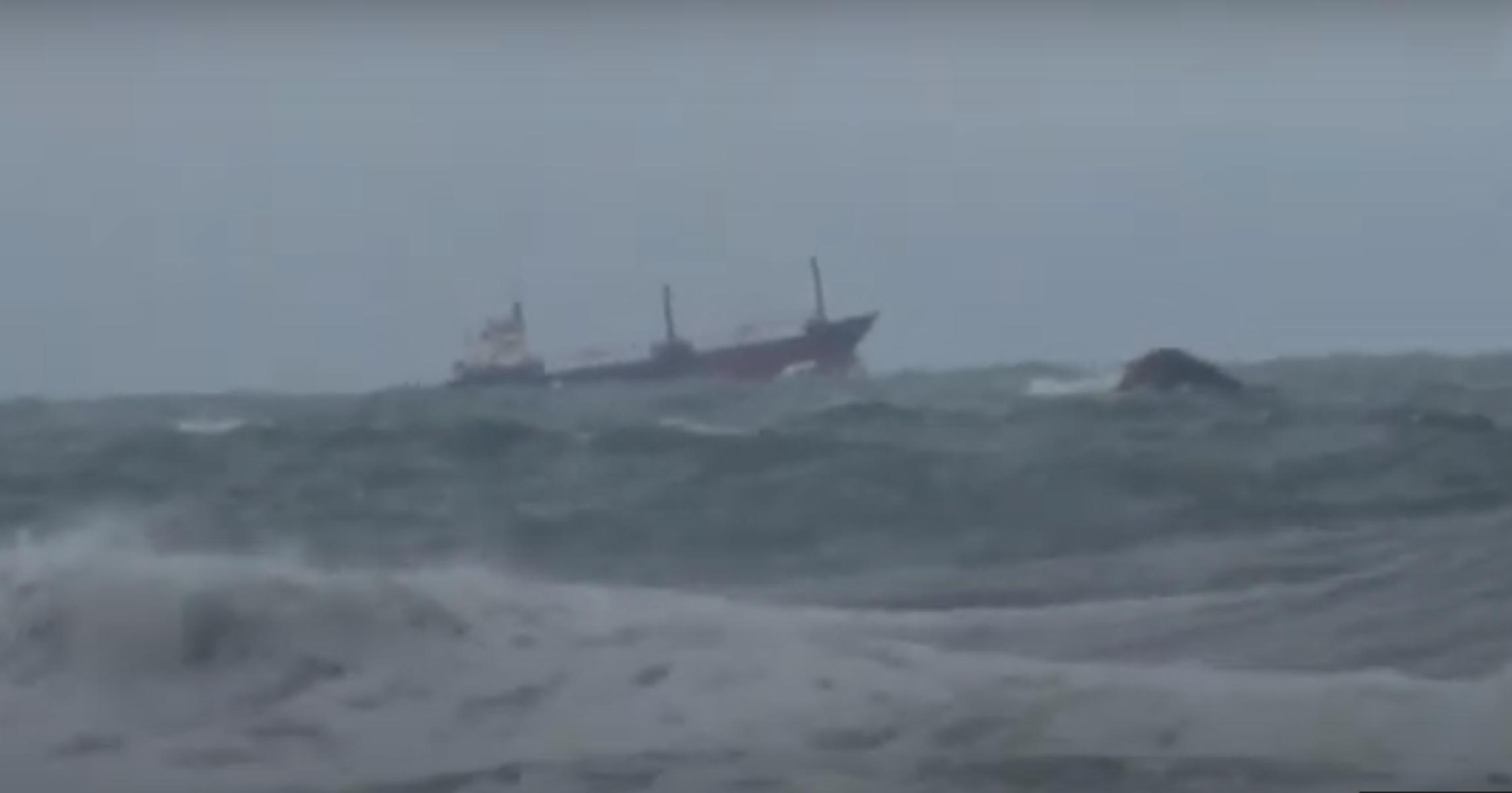 Τουρκία: Δυο νεκροί από τη βύθιση ρωσικού φορτηγού-πλοίου στη Μαύρη Θάλασσα