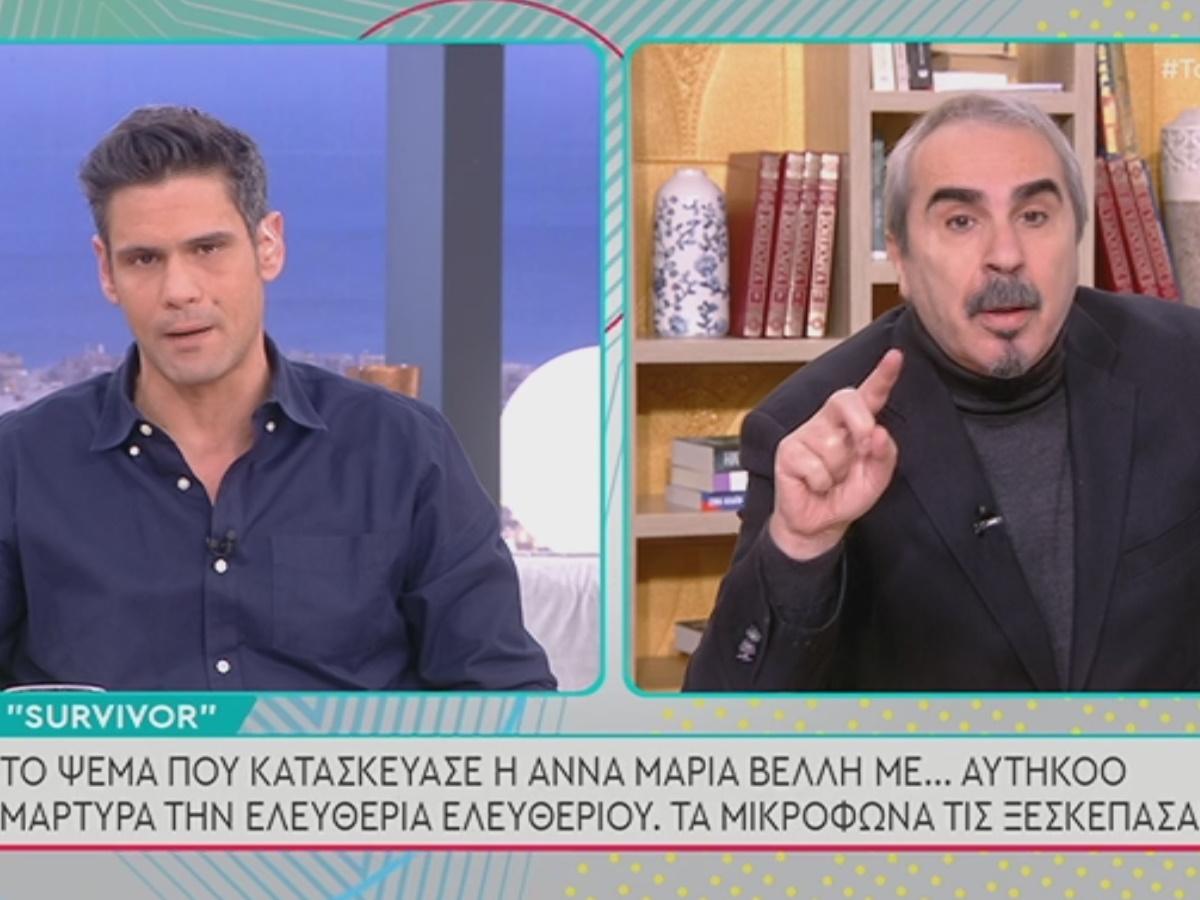 """Χαμός στο Πρωινό με Ουγγαρέζο και Περρή: """"Είμαι λαϊκιστής και θα μαλώσουμε"""""""