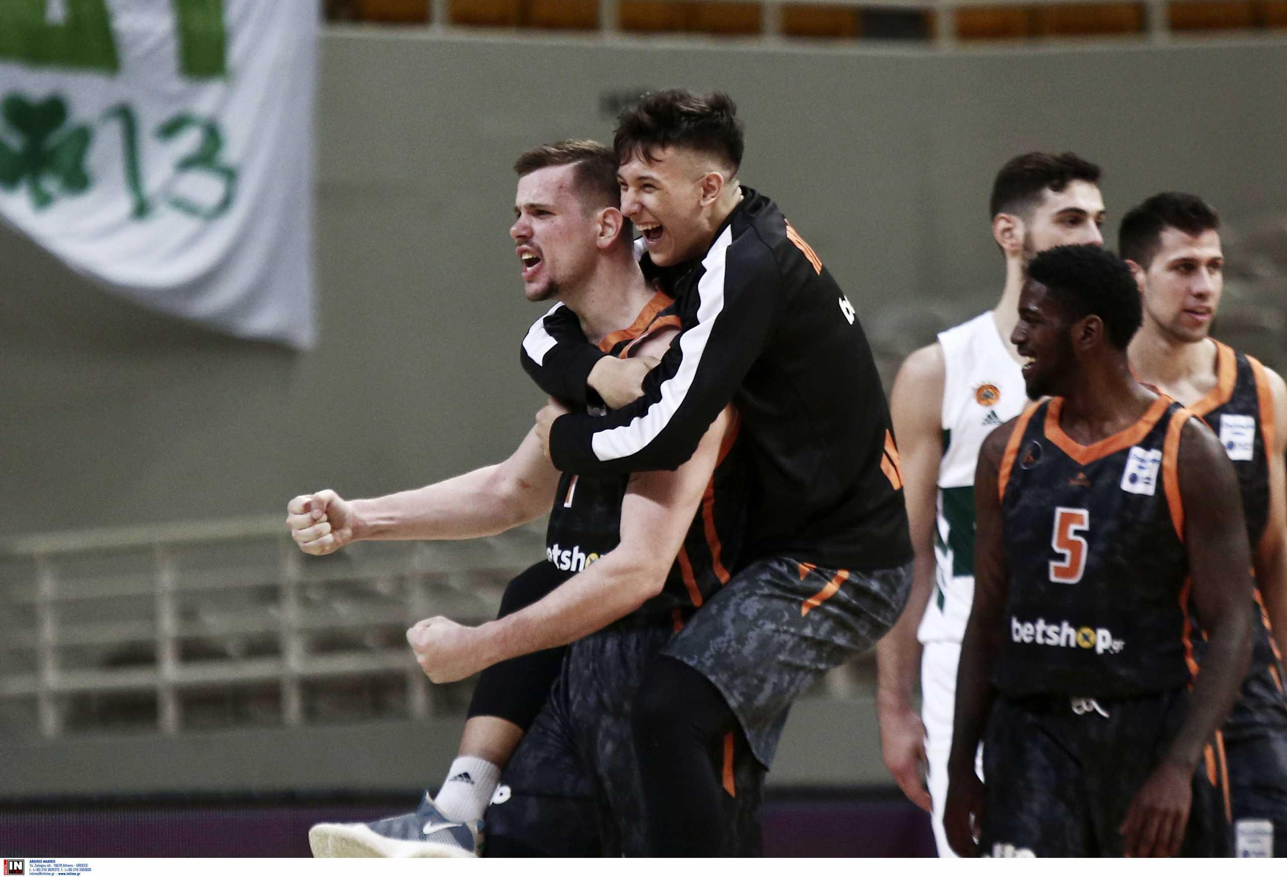 «Βόμβα» στην Basket League: Ο Προμηθέας Πάτρας «υπέταξε» τον Παναθηναϊκό με φοβερό φινάλε (video)