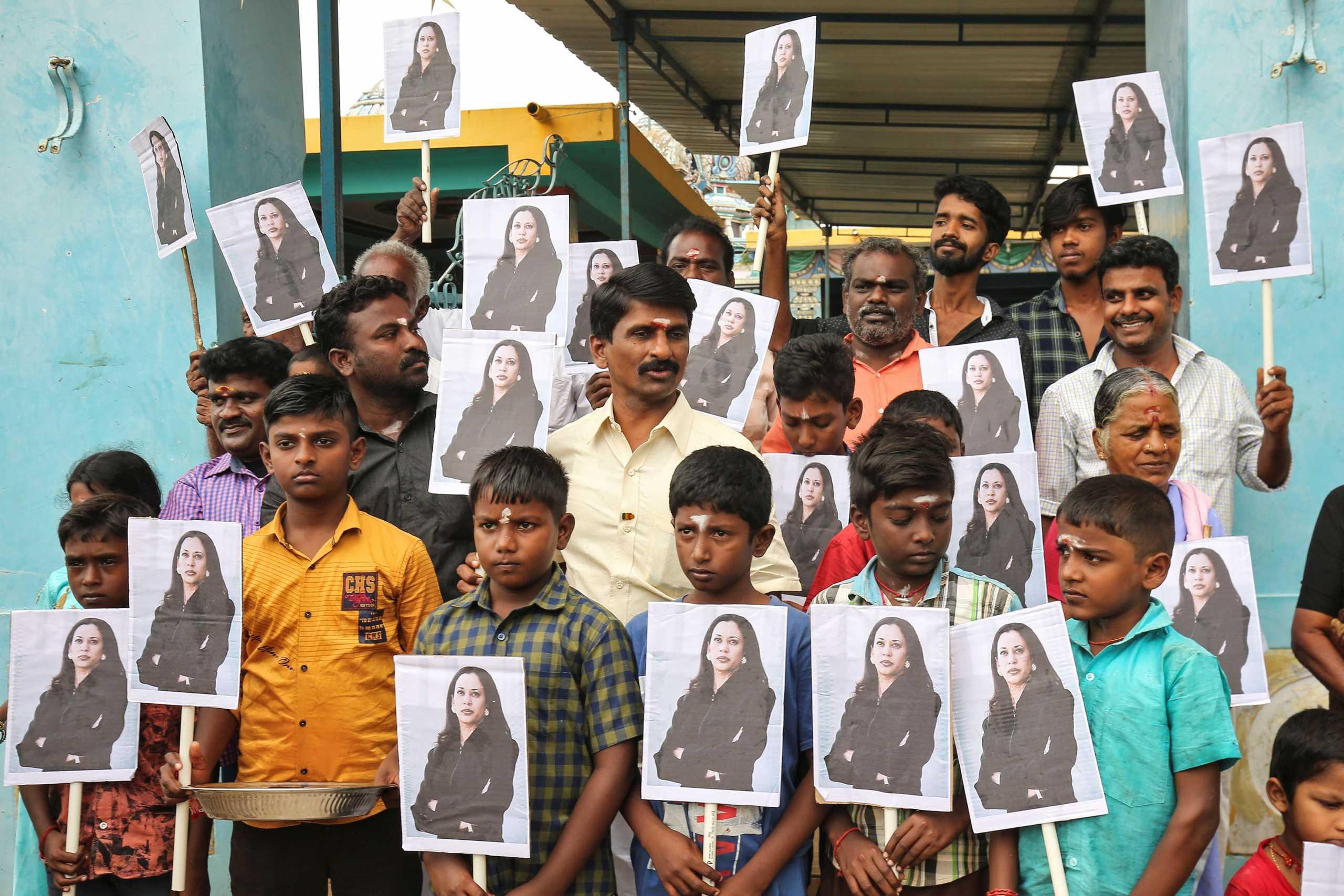 Ορκωμοσία ΗΠΑ: Το χωριό στην Ινδία που καμαρώνει για την Κάμαλα Χάρις